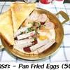 ไข่ฟองใหญ่เบิ้ม x2 เนยแท้ๆ ไม่ใช้น้ำมัน ในกระทะทองเหลืองอย่างดี วัตถุดิบชั้นเลิศ