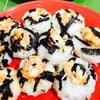 ซูชิหน้ากุ้งสาหร่ายเส้นญี่ปุ่น