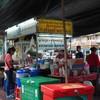 หน้าร้าน ร้านปลาเผาสุวรรณภูมิ ป้าผัน (ขายรอบเย็น) เทเวศร์