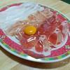 เทไข่ลงไป