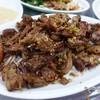 เนื้อหมู นำมาผัดพริกกระเทียม