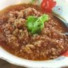 น้ำพริกอ่อง + แคบหมู + ผักสด (70 บาท)
