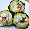 ใช้เนื้อปลาอินทรีย์แท้ๆสดๆ ใช้หัวกะทิล้วนๆ เครื่องแกงทำเองเพื่อรสชาติอร่อยๆ