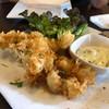 ปลาหมึกชุบแป้งทอด กรอบๆ อร่อยครับ เพลินๆ