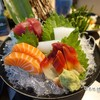 Salmon, หอยปีกนก, ปลาหมึก, Maguro