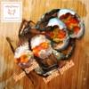 ปูไข่(ปูทะเล)ดองน้ำปลา ขนาดตัวละ 150-170g 2 ตัว 500บาท