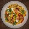 ตำข้าวโพดไข่เค็มไชยา Healthy recipe
