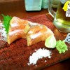 Salmon Warayaki ที่ ร้านอาหาร Teppen สาธร