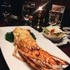 Lobster Thermidor อบชีสด้านบน
