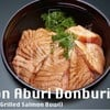 Salmon Aburi Donburi