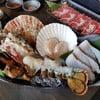 Lobster, Grouper, Hokkaido Scallop