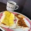 Egg custard vs butter sugar toast
