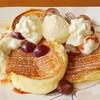 มาลองเมนูใหม่ค่ะ 😍😉 Japanese soufle pancake with homemade icecream แพนเค้กนุ่ม