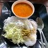 ขนมจีนน้ำยาปู+น้ำยาปลาช่อน