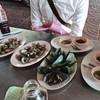 เมนูของร้าน ป้าจิน หอยแครงลวก ซอยเท็กซัส