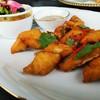 เนื้อปลากระพงกรอบ ทานคู่กับยำมะม่วงดอกขจร อร่อยครับ