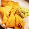 Corn Chips With Smooth Avocado Puree'