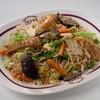 บะหมี่ผัดฮ่องกงทะเล จานกลาง