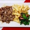 Shawarma lamb plat ชาวาร์ม่ารวม