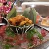 ไข่หอยเม่นเสริฟพร้อมสาหร่าย สด อร่อย หวาน แต่น่าจะมีข้าวญี่ปุ่นเสริฟเป็นไซด์ให้ด