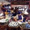 อาหารไทยๆสไตล์ตลาดน้ำ