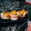 ซูชิเนื้อปลาตาเดียวและฟัวกราส์