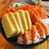 แซลมอนซาซิมิ/ไข่หวาน/ท้องปลาแซลมอน