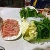 ชุดปลาและผักรวม