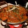 Chicken tikka masala ที่ ร้านอาหาร Indus
