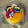 เค้กส้ม เค้กวันเกิด