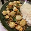 โคตรหอยเชลล์กะเพรา กับข้าว (no rice)
