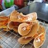 ขนมเบื้องบางกรอบไส้หวาน ร้านขนมเบื้องไทยตลาดพลู