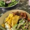 ข้าวราดแกงเหลือง ผัดมะระ หมูทอด อร่อยลงตัวมากกก รสชาติคนใต้แท้ๆเลยจ้า