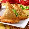 Crispy snack with potato, vegetable & flavoured with spices & herbs