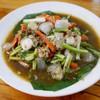 หอยเชลล์หวาน ผัดกับพริกไทยดำ คลุกกับข้าว เด็ด
