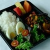 Stir fried chicken cashew nut and steam rice served with boiled egg, seasonal fruit and 1 bottle of orange juice