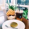 black coffee yuzu & soft cookie ชาเขียว