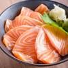 ข้าวปลาแซลมอนดิบ