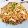 ข้าวผัดปู (ไข่ปู+เนื้อปู) ที่ ร้านอาหาร Seafood Express พระรามเก้า