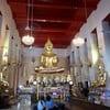 ภายในพระวิหารหลวง ประดิษฐานพระพุทธรูปโบราณมากมาย
