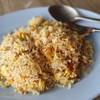 ข้าวผัดปู : ข้าวเม็ดสวยดีใช้ได้ ผัดมากับไข่ เนื้อละเอียด ทั่วถึง รสหวาน มัน ดีใช