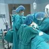 บรรยากาศภายในห้องผ่าตัด
