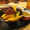 Complimentary fresh made chips and salsa!