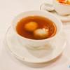 🍨 บัวลอยน้ำขิง บัวลอยแป้งบางเหนียวนุ่มสอดใส้งาดำบด อร่อยดีเข้ากับน้ำขิงดี
