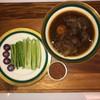 หมูฮ้อง + น้ำพริกกะปิผักเคียง