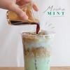☕️ Mocha Mint นมมิ้นท์เลเยอร์ด้วยมอคค่าสูตรเข้มข้น หอมกาแฟและช็อกโกแลต (ใครไม่ทา