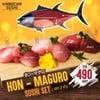 Hon-maguro sushi set