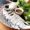 ปลาสดมากกก...เสริฟพร้อมกับขนมจีนและผักสดตามด้วยน้ำจิ้มสูตรเด็ด