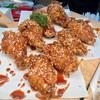 ปีกไก่เกาหลีรสเผ็ดและหวาน (กับ)