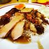 ข้าวหมูแดงซอกตึกสามย่าน เชลล์ชวนชิม